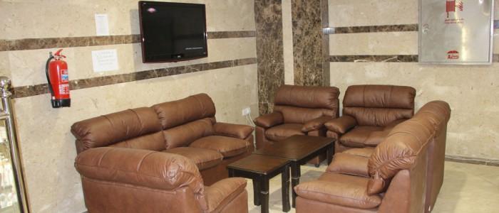 Beyza Palace dinlenme bölümü